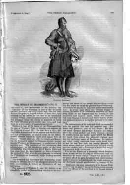 PM 808. The PENNY MAGAZINE. 1844. (IRISH GOLD-MINES Wicklow, WINE DISTRICTS of PORTUGAL & ...