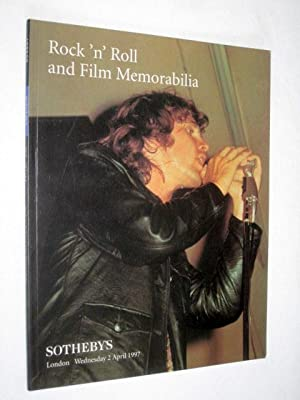 Rock 'n' Roll and Film Memorabilia, 2: Christie's.