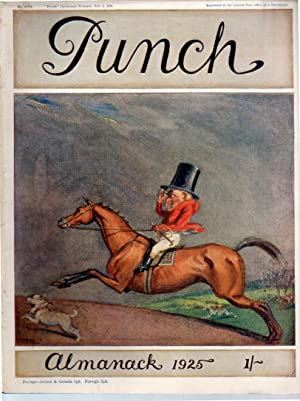 PUNCH's ALMANACK, PUNCH or The London Charivari,: Punch.