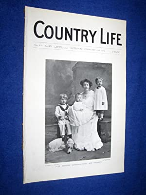Country Life. No 373. 27th February 1904. Lady Dorothy Gathorne-Hardy & Children. Tythrop House...