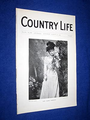 Country Life. No 374. 5th March 1904.Lady: Country Life