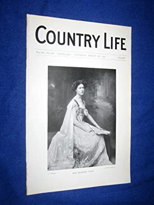 Country Life. No 377. 26th March 1904. Miss Beatrice Paget. South Wraxall Manor House Wiltshire. ...