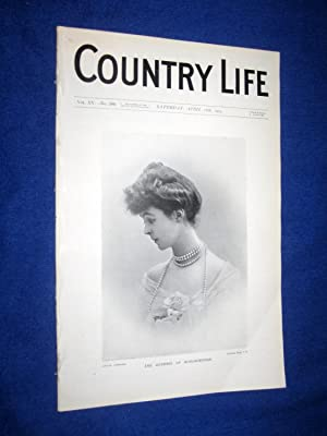 Country Life. No 380. 16th April 1904. The Duchess of Marlborough. Kingston Lacy in Dorset Seat of ...