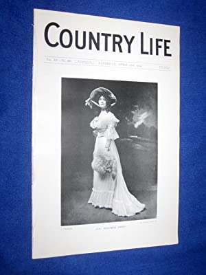 Country Life. No 381. 23rd April 1904. Miss Winifred Paget., Little Moreton Hall in Cheshire. ...