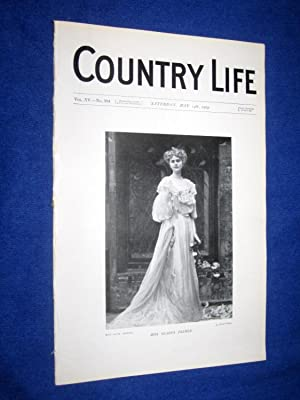 Country Life. No 384. 14th May 1904. Miss Gladys Palmer., Keevil Manor Trowbridge. Clack-Mills, ...