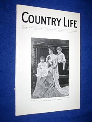 Country Life. No 386. 28th May 1904. Lady Cynthia Graham & Children. Wilton House in Salisbury ...
