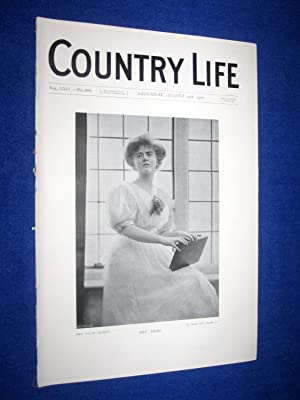 Country Life. No 608. 29th August 1908. Mrs Nicol, Parnham House (Pt 1), Dorsetshire, Seat of Mr ...