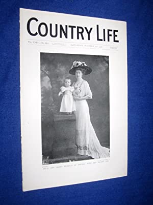 Country Life. No 613. 3rd October 1908, H.R.H The Crown Princess of Sweden with Her Second Son. ...