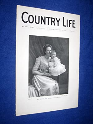 Country Life. No 617. 31st October 1908, The Duchess of Hamilton, Dorfold Hall, Cheshire, Seat of ...