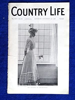 Country Life. No 619. 14th November 1908, The Countess of Portarlington., Easton Neston ...