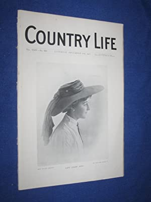 Country Life. No 625. 26th December 1908,: Country Life including