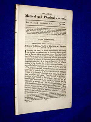 The London Medical and Physical Journal, 1819,: Bradley, T., Dr