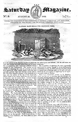 The Saturday Magazine No 9, The WRYNECK,+ Death's Head Moth,1832: John William Parker, ...