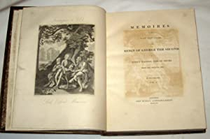 Memoires of the Last Ten Years of the Reign of George the Second [complete 2 volume set]: Walpole, ...