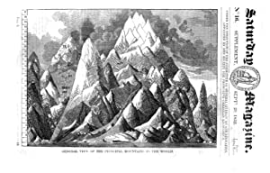 The Saturday Magazine No 16, Supplement Issue - MOUNTAINS of the World, 1832,: John William Parker,...