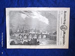 The Saturday Magazine No 85, Supplement Issue - The City of MOSCOW, 1833: John William Parker, ...