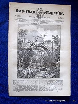The Saturday Magazine No 108, ROKEBY Yorks, + SHIPWRECK RESCUEs, 1834: John William Parker, ...