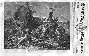 The Saturday Magazine No 114, SHIPWRECK of MEDUSA in 1816, BOROUGHBRIDGE,1834: John William Parker,...