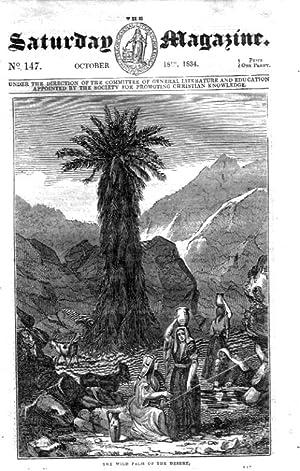 The Saturday Magazine No 147, CARACCAS CEMETERY, LION HUNT S.America 1834: John William Parker, ...
