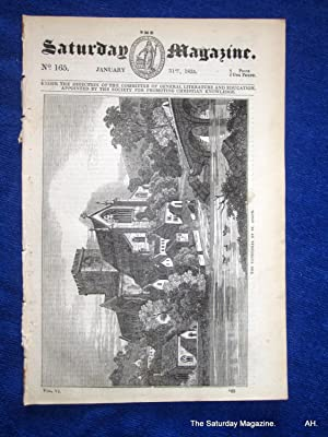 The Saturday Magazine No 165, St ASAPH Cathedral,+ French GYPSIES,Gipsy, 1835: John William Parker,...