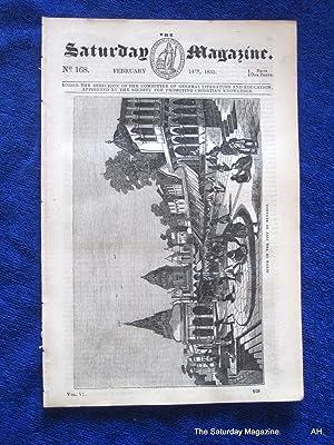The Saturday Magazine No 168, Benares + On Cromlechs, 1835: John William Parker, Saturday Magazine