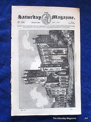 The Saturday Magazine No 170, St DAVID's Cathedral, SOUFFLEUR Mauritius, 1835: John William ...