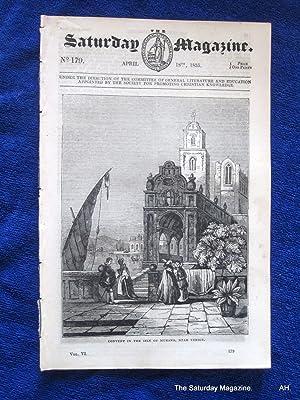 The Saturday Magazine No 179, MURANO Venice, + DRUID REMAINS KESWICK 1835: John William Parker, ...