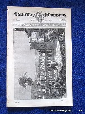 The Saturday Magazine No 190, CORDOVA (Part 1) Spain, MUSHROOMS, Crutched Friars,1835: John William...