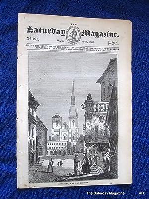 The Saturday Magazine No 191, GOTTINGEN in Hanover,+ BREWING, + F.BACON, 1835: John William Parker,...