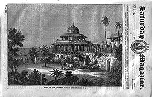 The Saturday Magazine No 194, ALLAHABAD, India + The Sumach, 1835: John William Parker, Saturday ...
