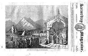 The Saturday Magazine No 205, LUCERNE,GHAZEEPORE, ORANG-UTANG, 1835: John William Parker, Saturday ...