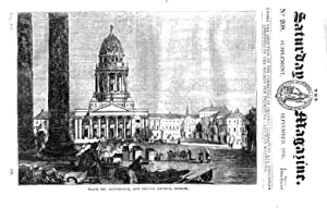 The Saturday Magazine No 208, Supplement Issue Some Account of BERLIN 1835: John William Parker, ...