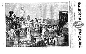 The Saturday Magazine No 216, FLORENCE & ARNO Bridges, FUNGI & MOSSES, 1835: John William ...