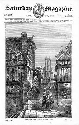The Saturday Magazine No 242, INNSBRUCK,Tyrol,+ ADMIRAL LORD EXMOUTH, 1836: John William Parker, ...