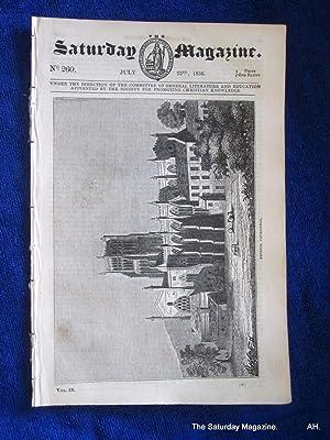 The Saturday Magazine No 260, BRISTOL CATHEDRAL,+ BRICKLAYING, 1836: John William Parker, Saturday ...