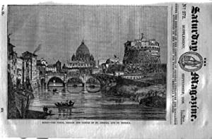 The Saturday Magazine No 272, Supplement Issue Some Account of the City of Rome (Part 1). 1836: ...