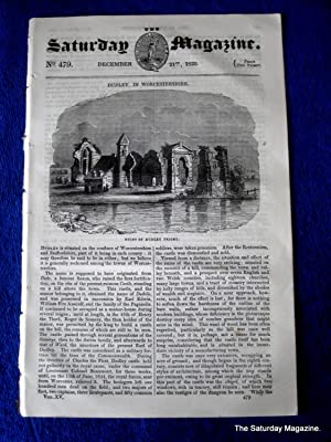 The Saturday Magazine No 470, Supplement Issue - Glances at Railroad Travelling (Part 1) Oct 1839,:...