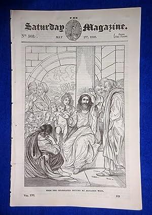 The Saturday Magazine No 503, BENJAMIN WEST and His Works (Part 1), + QUARANTINE - Plague, 1840: ...