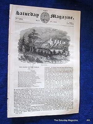 The Saturday Magazine No 504, The Banks of the TAMAR - Devon (Part 2),+ MARSEILLES LAZARETTO, 1840:...
