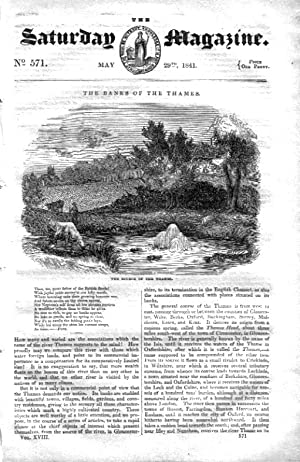 The Saturday Magazine No 571,BRITISH GUYANA (Part 4), The Banks of the Thames (Part 1) - Source + ...