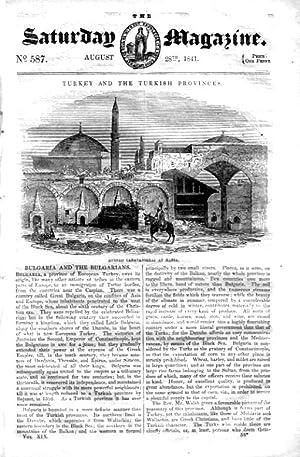 The Saturday Magazine No 587, BULGARIA,+ Chess Automaton,+ BETEL-CHEWERS.1841: John William Parker,...