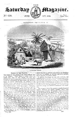 The Saturday Magazine No 638,VOLTAIC ELECTRICITY, JAVANESE Sketches (Part 2) - Java + PANAMA CANAL ...