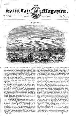 The Saturday Magazine No 645, MARGATE, + ADDINGTON PARK, Somerset House, 1842: John William Parker,...