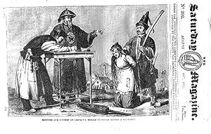 The Saturday Magazine No 202, BANGOR Cathedral, PUNISHMENT in CHINA, 1835: John William Parker, ...