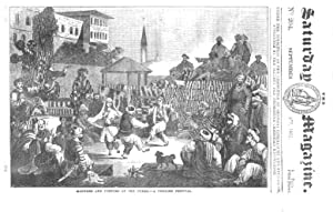 The Saturday Magazine No 204, Manners & Customs of TURKS, Philip Melancthon, 1835: John William...