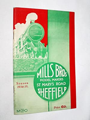 Mills Brothers Model Railway and Commercial Model Builders 1934 - 1935 Catalogue of British Made ...