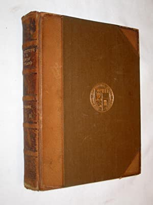 An Institute of the Law of Scotland. A New Edition By James Badenach Nicolson, Advocate. In Two ...