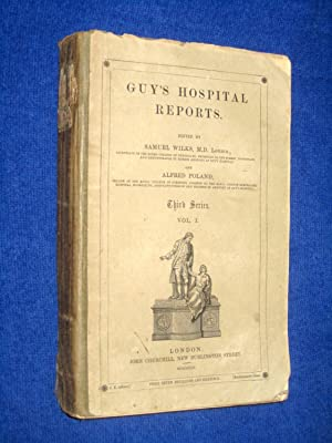 Guy's Hospital Reports, 1855, Third Series, Vol I,: Guy's Hospital, Samuel Wilks, Alfred ...