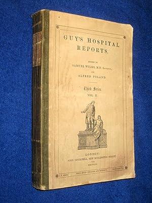 Guy's Hospital Reports, 1856, Third Series, Vol II,: Guy's Hospital, Samuel Wilks, Alfred ...