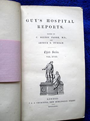 Guy's Hospital Reports, 1872 - 1873, Third Series, Vol XVIII,: Guy's Hospital, Fagge, C. ...